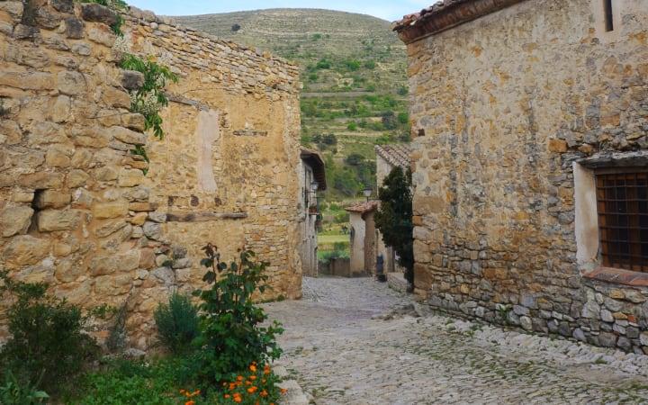 Callejones parte antigua Mirambel