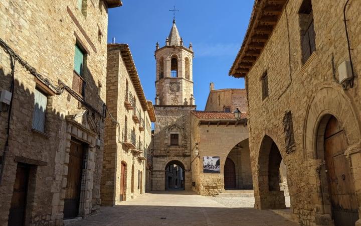 Cantavieja en el Maestrazgo de Teruel
