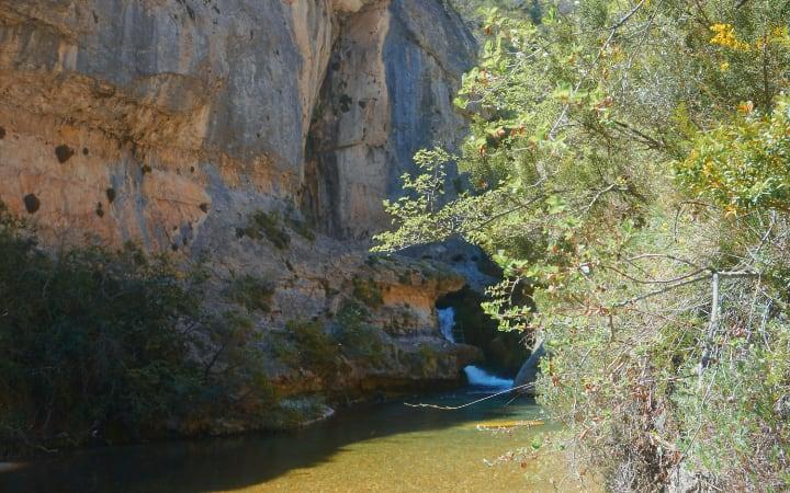 Cascada del nacimiento del río pitarque