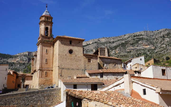 Iglesia de Santa Maria la Mayor de Pitarque