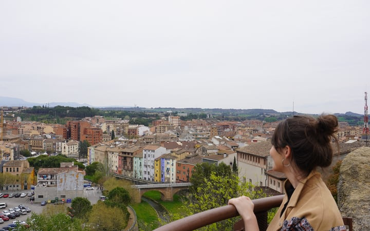 Vistas de la ciudad de Barbastro