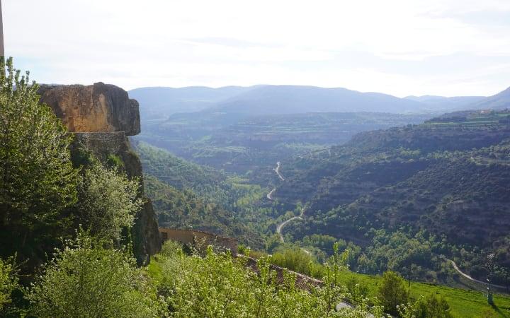 Vistas del Maestrazgo desde la Iglesia de San Miguel