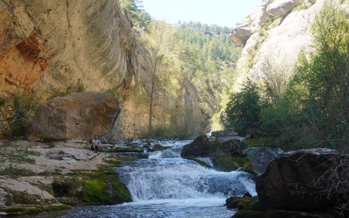 cauce del río Pitarque