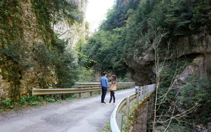 Paradas durante el cañón de Añisclo