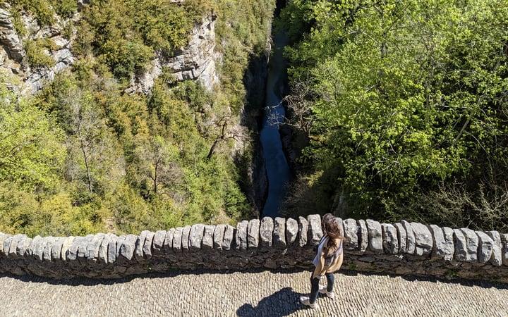 puente de San Úrbez sobre el río Bellós