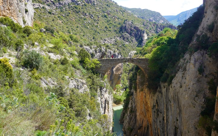 puente de la sierra rio esera