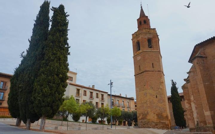 Torre campanario de la catedral