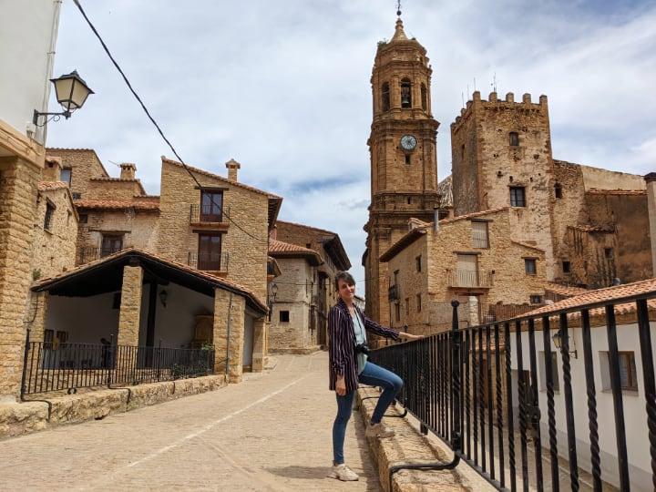 Entrada a La Iglesuela del Cid