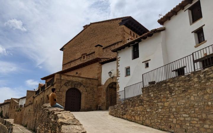 Portal de San Pablo en La Iglesuela del Cid