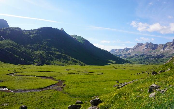 Ruta por el valle de Aguas Tuertas