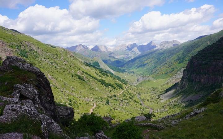 Vistas del Valle de Guarrinza