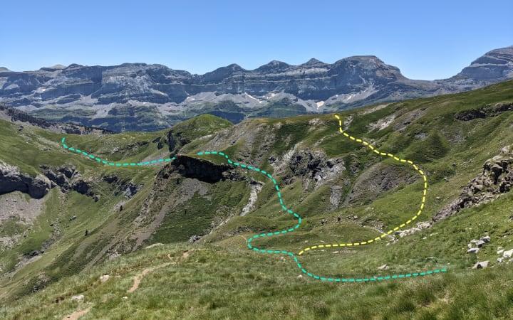 Caminos para recorrer el valle de la Estiva