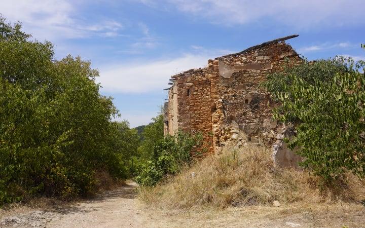 Antigua casa de Finestres