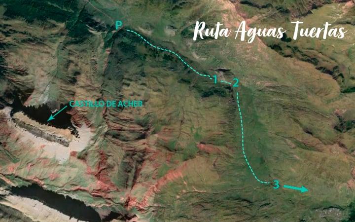 Mapa ruta Aguas Tuertas