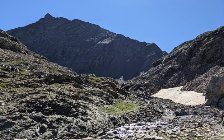 Pico Robiñera desde abajo