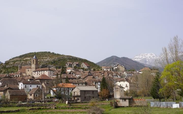Vistas de Hecho y el valle