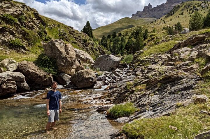 Barranco del Valle de Izas