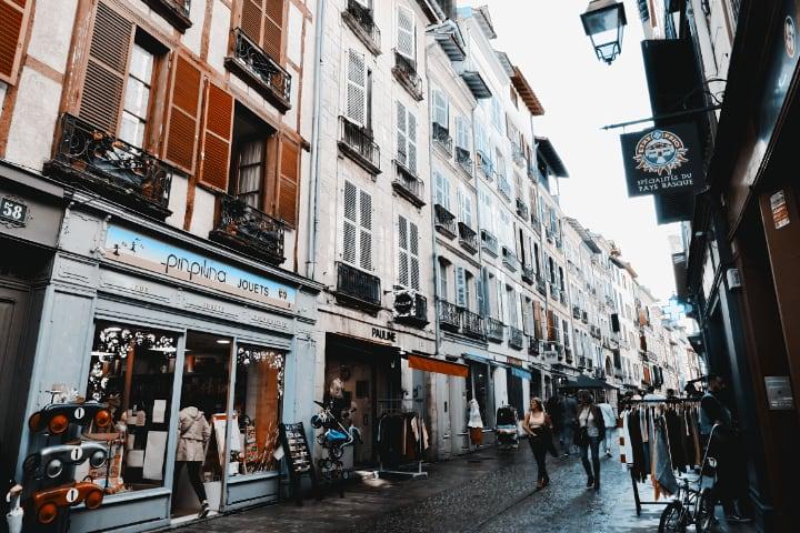 Calles de Bayona