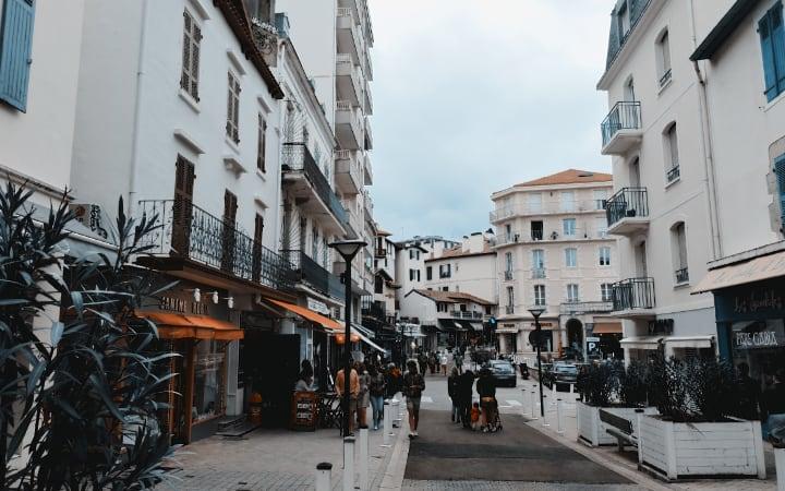 Callejuelas de Biarritz