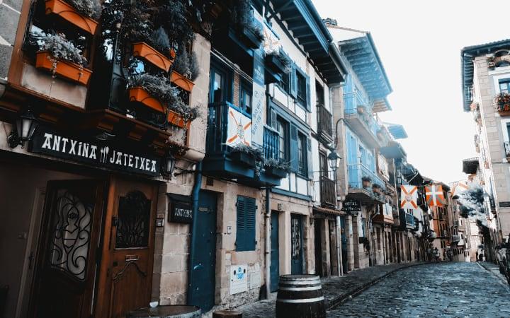 Calles de Hondarribia