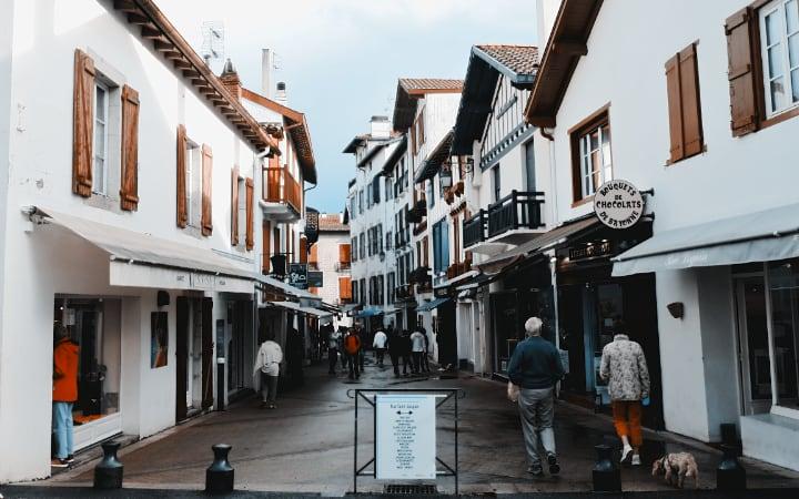 Calles de San Juan de Luz