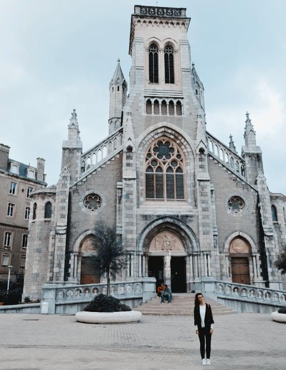 iglesia de Santa Eugenia de Biarritz