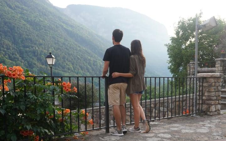 Disfrutando del Valle de Chistau