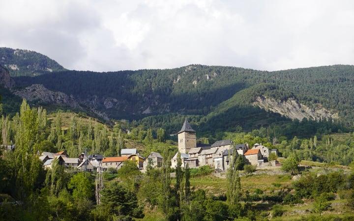 El pueblo de Sin en el Valle de La Comuna