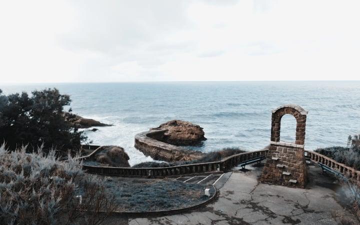 Biarritz en el País Vasco Frances