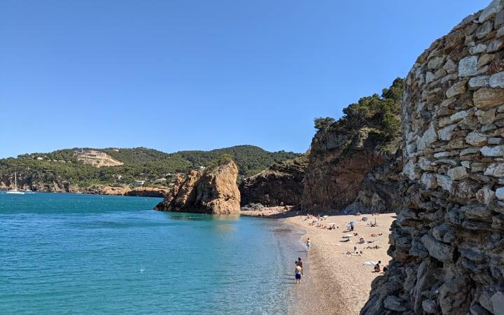 Playa de Illa Roja Begur