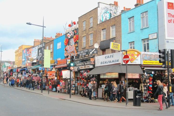 Camden Town mercado de Londres
