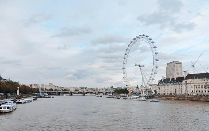 vuelta en London Eye